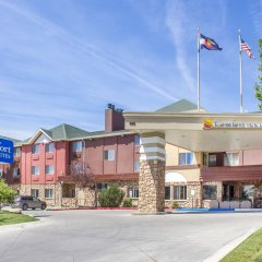 Отель Comfort Inn & Suites Durango вид на фасад фото 3