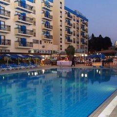 Отель Kapetanios Bay Hotel Кипр, Протарас - отзывы, цены и фото номеров - забронировать отель Kapetanios Bay Hotel онлайн бассейн фото 4