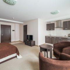 Гостиница Комплекс апартаментов Комфорт Улучшенная студия с различными типами кроватей фото 9