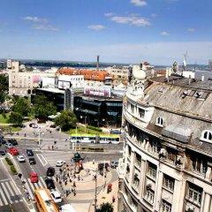 Отель Belgrade Republic Square Apartment Сербия, Белград - отзывы, цены и фото номеров - забронировать отель Belgrade Republic Square Apartment онлайн балкон фото 3