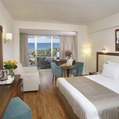 Golden Tulip Golden Bay Beach Hotel Ларнака комната для гостей фото 2