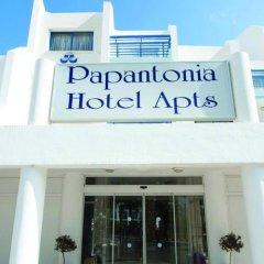 Отель Papantonia Apts Кипр, Протарас - отзывы, цены и фото номеров - забронировать отель Papantonia Apts онлайн вид на фасад фото 2