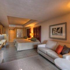 Отель Lopesan Baobab Resort 5* Представительский номер с различными типами кроватей фото 3