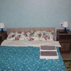 Хостел Белый медведь Стандартный номер с двуспальной кроватью