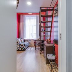 Апартаменты Sokroma Глобус Aparts Студия с двуспальной кроватью фото 15
