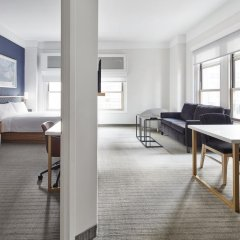 Radisson Hotel New York Wall Street 4* Номер категории Премиум с различными типами кроватей фото 2