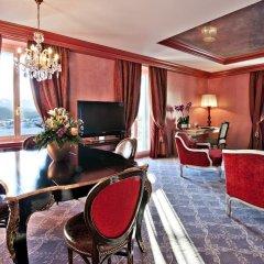 Carlton Hotel St Moritz 5* Люкс с двуспальной кроватью фото 5