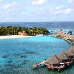 Отель Thulhagiri Island Resort пляж