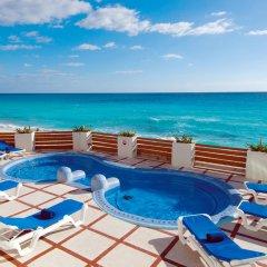 Отель Oleo Cancun Playa All Inclusive Boutique Resort бассейн