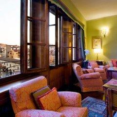 Отель Hermitage Hotel Италия, Флоренция - 1 отзыв об отеле, цены и фото номеров - забронировать отель Hermitage Hotel онлайн комната для гостей фото 7