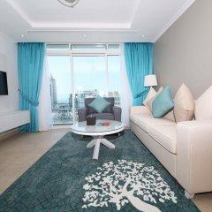 Отель Jannah Marina Bay Suites Люкс с 2 отдельными кроватями