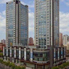 Отель DoubleTree by Hilton Shanghai Jing'an Китай, Шанхай - отзывы, цены и фото номеров - забронировать отель DoubleTree by Hilton Shanghai Jing'an онлайн вид на фасад фото 4