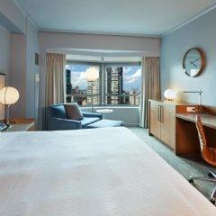 Отель New York Hilton Midtown 4* Представительский люкс с различными типами кроватей фото 4