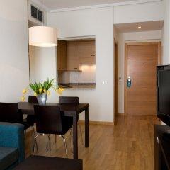 Отель Compostela Suites 3* Стандартный номер с различными типами кроватей