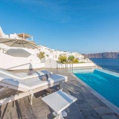 Отель Santorini Secret Suites & Spa 5* Люкс Grand с различными типами кроватей фото 10