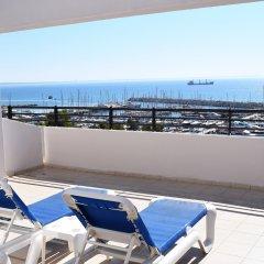 Sun Hall Beach Hotel Apts. in Larnaca, Cyprus from 70$, photos, reviews - zenhotels.com balcony photo 2