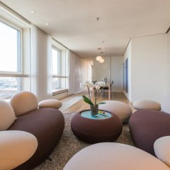 SIDE Design Hotel Hamburg 5* Люкс разные типы кроватей фото 4