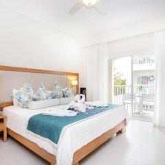 Отель Be Live Collection Punta Cana - All Inclusive 3* Номер Делюкс улучшенный Swim up с различными типами кроватей фото 4