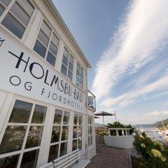 Отель Holmsbu Bad og Fjordl вид на фасад фото 3