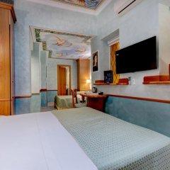 Hotel Amalfi 3* Стандартный семейный номер с различными типами кроватей фото 6