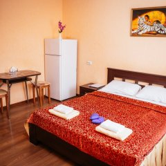 Гостиница Каштан Стандартный номер разные типы кроватей фото 16