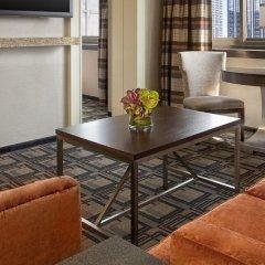 Отель Sheraton New York Times Square 4* Представительский люкс с различными типами кроватей фото 2