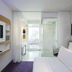 Отель Yotel New York at Times Square 3* Стандартный номер с различными типами кроватей фото 2