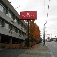 Отель Ramada Vancouver Exhibition Park Канада, Ванкувер - отзывы, цены и фото номеров - забронировать отель Ramada Vancouver Exhibition Park онлайн вид на фасад