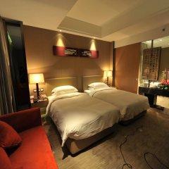 Отель Ramada Xian Bell Tower Hotel Китай, Сиань - отзывы, цены и фото номеров - забронировать отель Ramada Xian Bell Tower Hotel онлайн комната для гостей фото 5