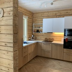 База Отдыха Forrest Lodge Karelia Улучшенный шале с разными типами кроватей фото 30