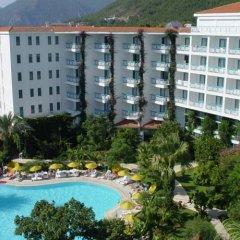 Tropikal Hotel пляж