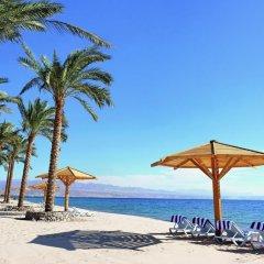 Отель Movenpick Resort Taba пляж фото 2