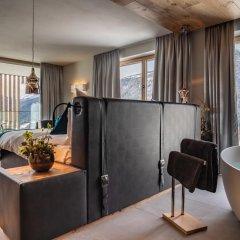 Hotel Kircherhof Горнолыжный курорт Ортлер интерьер отеля