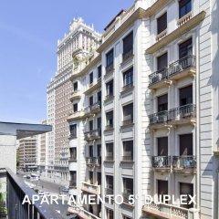 Отель Apartamentos LG45 Испания, Мадрид - отзывы, цены и фото номеров - забронировать отель Apartamentos LG45 онлайн балкон