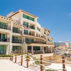 Отель Grand Park Royal Luxury Resort Cancun Caribe Мексика, Канкун - 3 отзыва об отеле, цены и фото номеров - забронировать отель Grand Park Royal Luxury Resort Cancun Caribe онлайн вид на фасад фото 2