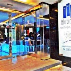 Отель BLUTIQUE Бангкок интерьер отеля
