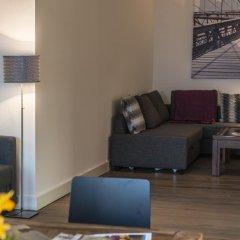 Отель Penthouse Stephansplatz Люкс с различными типами кроватей фото 32