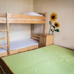 Music Hostel Piotrkowska Кровать в мужском общем номере с двухъярусной кроватью фото 2