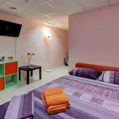 Мини-отель Брусника у метро Красносельская Номер с общей ванной комнатой с различными типами кроватей (общая ванная комната) фото 11