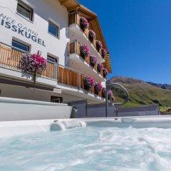 Отель Residence Weisskugel Langtaufers Südtirol Горнолыжный курорт Ортлер бассейн