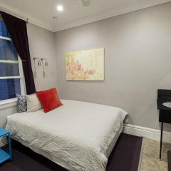 Отель USA Hostels San Francisco Номер с общей ванной комнатой с различными типами кроватей (общая ванная комната) фото 8