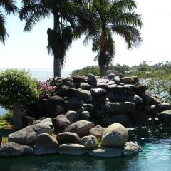 Отель Malaqereqere Villas пляж фото 2