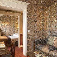 Отель Hôtel Des Grands Hommes 3* Стандартный номер с различными типами кроватей фото 8