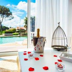 Отель Obidos Lagoon Wellness Retreat 4* Улучшенные апартаменты разные типы кроватей фото 33