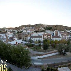 Отель Cuevas Blancas балкон
