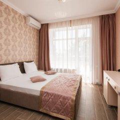 Гостиница Кристалл Стандартный номер двуспальная кровать фото 12