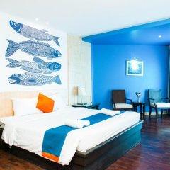 Отель Sea Breeze Jomtien Resort 4* Улучшенный номер с различными типами кроватей фото 11