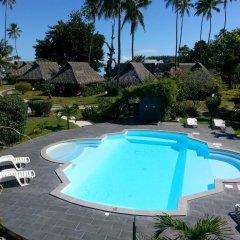 Отель Hibiscus Французская Полинезия, Муреа - отзывы, цены и фото номеров - забронировать отель Hibiscus онлайн бассейн фото 3