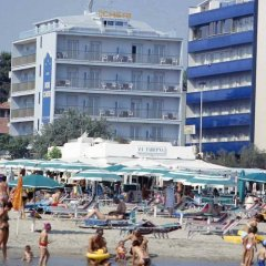 Отель Mon Cheri Италия, Риччоне - отзывы, цены и фото номеров - забронировать отель Mon Cheri онлайн пляж фото 2