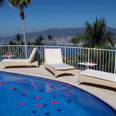 Отель Las Brisas Acapulco 4* Стандартный номер с разными типами кроватей фото 7